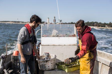 Journée pêche sur le Bassin d'Arcachon