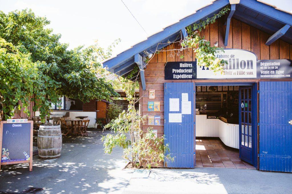 La Cabane à huîtres de l'Aiguillon à Arcachon