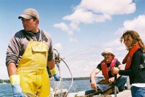 Sortie avec un pêcheur sur le Bassin d'Arcachon