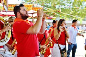 Musiciens à Arès