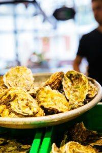 Huîtres au marché d'Arcachon