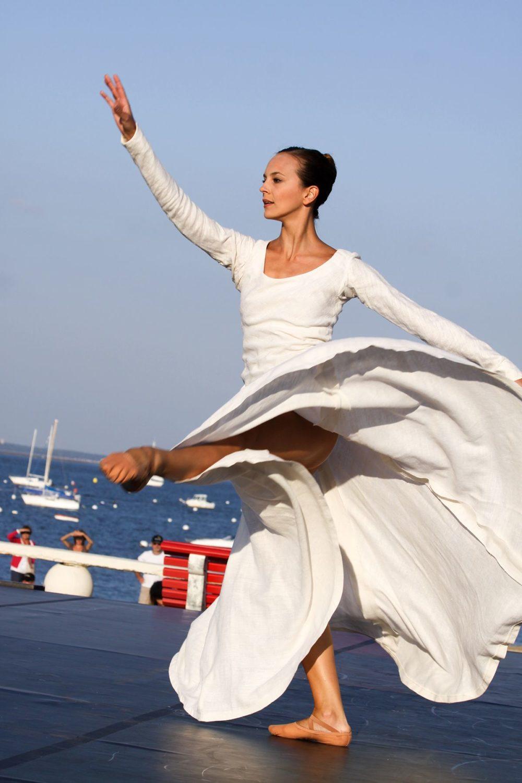 Danseuse au Festival Cadences d'Arcachon