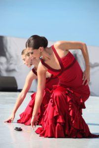Danseuses au Festival Cadences d'Arcachon - Photo de Jean-Christophe Lauchas