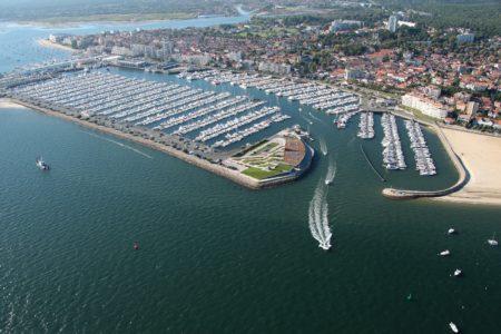Port d'Arcachon vu du ciel