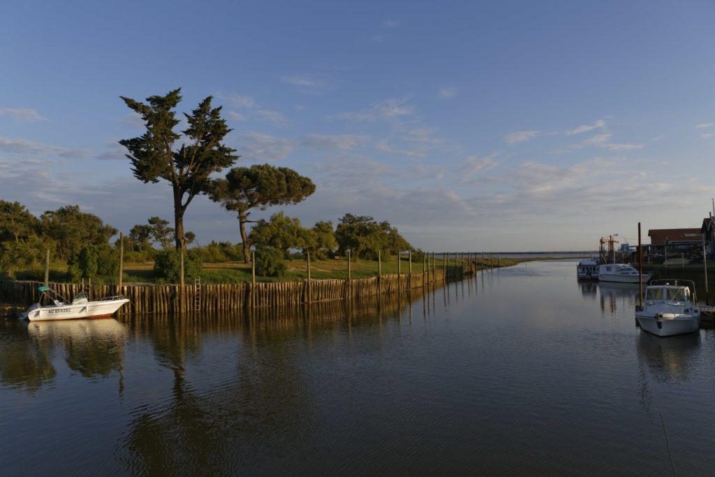 Port de Cassy au Bassin d'Arcachon
