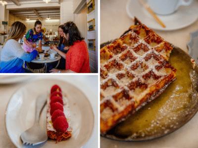 Gourmandises entre filles à la pâtisserie du Cap Ferret