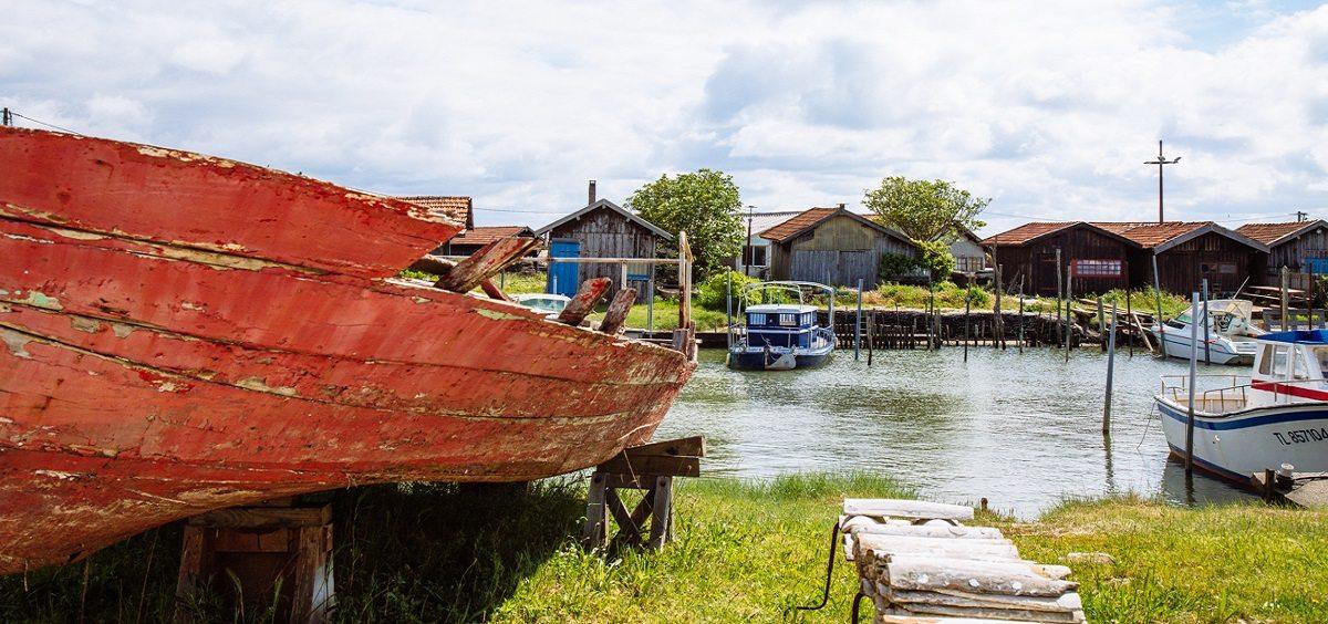 Port de Larros à Gujan-Mestras