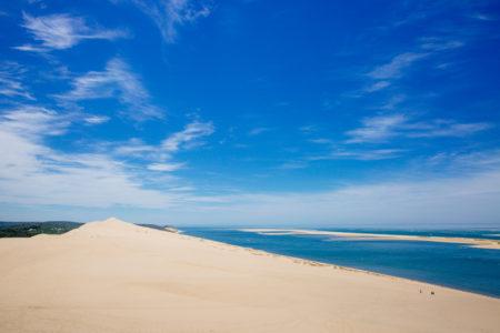 Vue sur le Banc d'Arguin depuis la Dune du Pilat