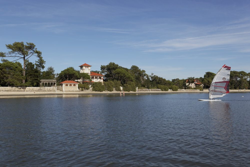 Les belles villas de Taussat les Bains à Lanton
