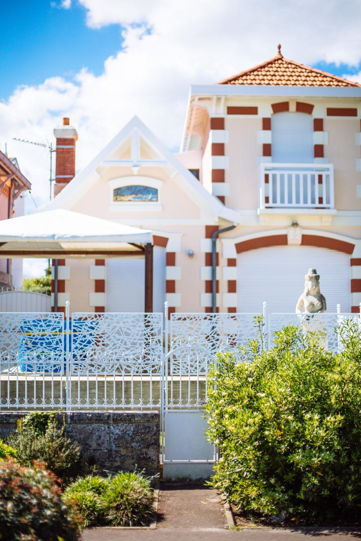 Maison typique sur le front de mer d'Arcachon