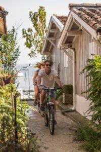 Balade à vélo dans un village ostréicole de Lège Cap Ferret