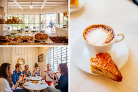 Pause à La P'tite pâtisserie du Ferret avec Cap Gourmand au Bassin d'Arcachon