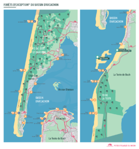 Carte Marine du Bassin d'Arcachon