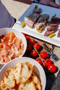 Pique-nique à base de produits régionaux avec Cap Gourmand au Mimbeau