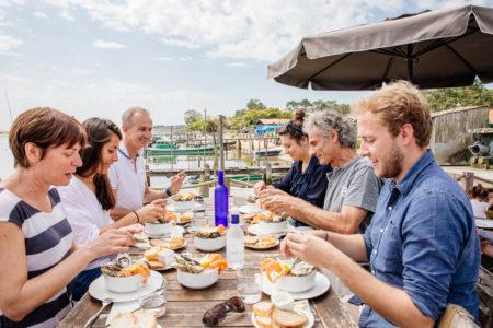 Dégustation d'huîtres face à la Dune du Pilat avec Cap Gourmand