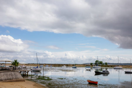 Vue sur le Mimbeau au Bassin d'Arcachon