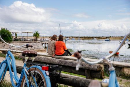 Un tour à vélo vers le Mimbeau au Cap Ferret