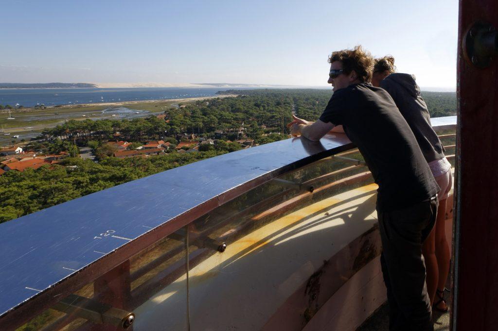 Vue sur le Bassin d'Arcachon depuis le phare du Cap Ferret