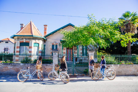 Balade à Vélo pour découvrir les villas d'Andernos-les-Bains