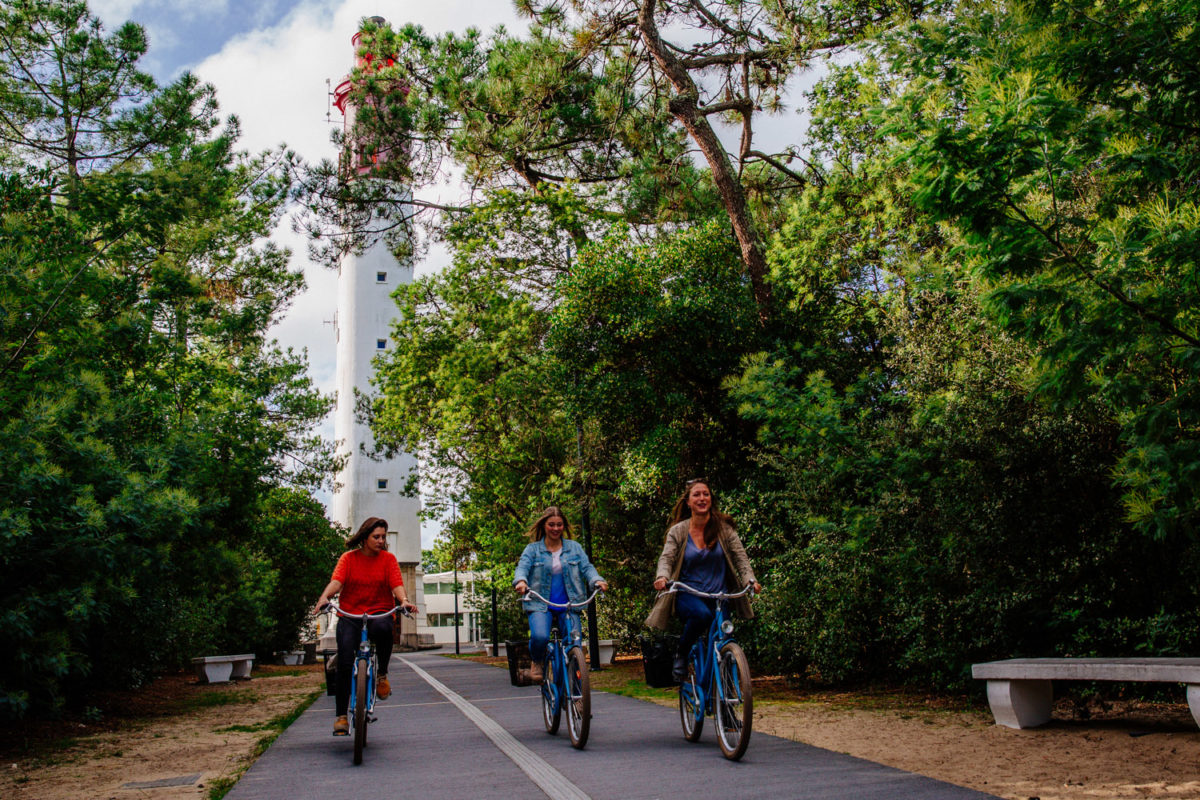 balade à vélo au bassin d'arcachon